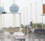 """""""الأرصاد"""": طقس غير مستقر ورياح نشطة مع أمطار رعدية"""