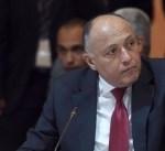 وزير خارجة مصر يشارك بالاجتماع التساعي حول سد النهضة