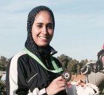 """الرامية الكويتية ايمان الشماع تفوز بذهبية """"سكيت"""" في البطولة العربية للرماية"""