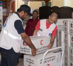 الهلال الأحمر يبدأ حملة لتوزيع المساعدات على الأسر المتعففة في الكويت