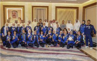 نادي الألعاب الشتوية يشيد بفوز فريق هوكي السيدات ببرونزية البطولة الخليجية