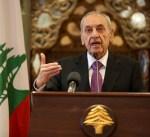 رئيس البرلمان اللبناني نبيه بري يدعو إلى تشكيل حكومة بأسرع وقت ممكن