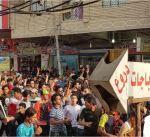 اصابة 3 أشخاص أثناء تفريق الشرطة متظاهرين في محافظة ذي قار العراقية