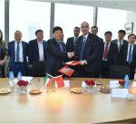 مؤسسة البترول توقع اتفاقية مع مجموعة صينية لتسويق النفط الخام