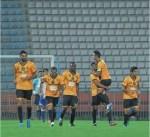 القادسية يفوز على النصر بثلاثية في دوري فيفا
