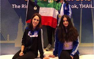 فتيات الكويت للـ(فيغر) يضفن خمس ميداليات لرصيدهن في البطولة الآسيوية بتايلاند