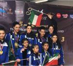 """لاعبات منتخب الكويت للـ""""فيغر"""" يواصلن التألق في البطولة الاسيوية في تايلاند"""