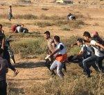 الصحة الفلسطينية: شهيدان و270 اصابة بمسيرات العودة على حدود غزة