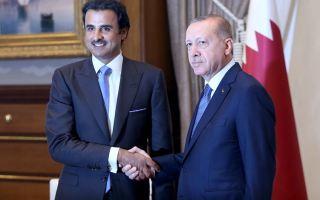 أردوغان يشكر قطر لوقوفها بجانب تركيا
