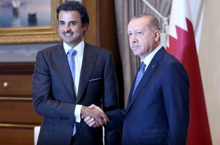 أمير قطر: نقف إلى جانب تركيا التي وقفت مع قضايا الأمة ومع قطر