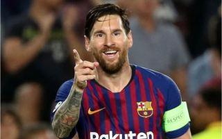 ثلاثية ميسي تقود برشلونة لفوز كبير على أيندهوفن