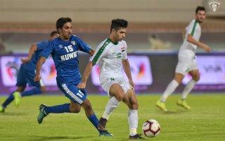 منتخب الكويت يتعادل مع نظيره العراقي في مباراة ودية