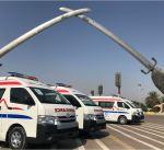 الكويت تهدي العراق سيارات إسعاف ومعدات طبية قيمتها 1.8 مليون دولار