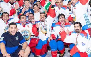 منتخب الكويت يتوج بلقب بطولة هونج كونج لهوكي الجليد للهواة
