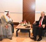 رئيس مجلس الأمة يجتمع الى رئيس البرلمان التركي