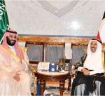 سمو الأمير يتلقى برقية شكر من ولي العهد السعودي