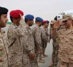 """آمر القوة الجوية الكويتية يتفقد القوات المشاركة في عملية """"إعادة الأمل"""""""