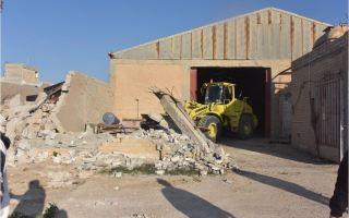 البلدية: ازالة 11 قسيمة صناعية بالكامل بمنطقة الدوحة