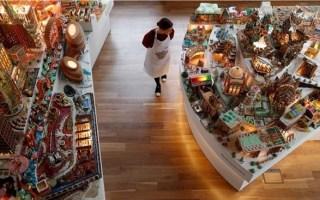 معماريون يبنون مدينة من خبز الزنجبيل لشحذ الهمم للتصميم