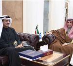 الغانم يستقبل قنصل عام الكويت في أربيل الدكتور عمر الكندري