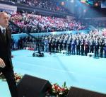 أردوغان: سنستمر في القضاء على التنظيمات الإرهابية المدعومة من قوى الظلام