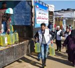 الهلال الاحمر: تقدم مساعدات للاجئين سوريين شرق لبنان