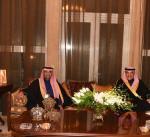 القناعي يقيم مأدبة عشاء على شرف ممثل سمو الأمير