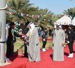 محافظات الكويت تحتفل بمراسم رفع العلم إيذانا بانطلاق الأعياد الوطنية