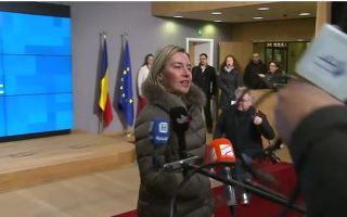 وزراء الخارجية الأوروبييون يبحثون التحضيرات للاجتماع الوزاري الاوروبي العربي المقبل