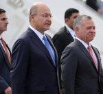 ملك الأردن يصل إلى العراق في زيارة رسمية