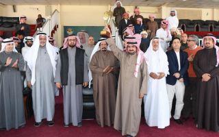 الهجن القطرية تهيمن على منافسات اليوم الثالث لبطولة الكويت الدولية