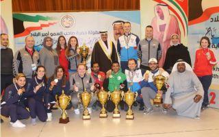 منتخب الكويت يضيف ثلاث ميداليات في بطولة سمو الأمير الدولية ال8 للرماية