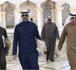 مبعوث سمو الأمير يتوجه الى السعودية لتسليم رسالة إلى ولي عهد المملكة