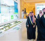"""خادم الحرمين يطلق مشاريع نوعية في """"الرياض"""" بقيمة تتجاوز ال22 مليار دولار"""