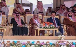 ممثل سمو أمير البلاد سمو ولي العهد يحضر فعاليات ختام مهرجان الملك عبدالعزيز للابل بالرياض