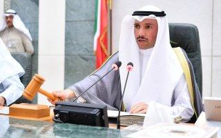 الغانم يفتتح الجلسة الخاصة بمناقشة التطورات الإقليمية