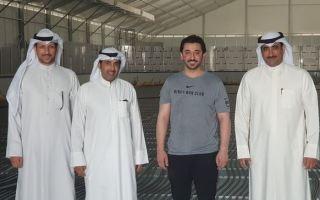 صقر الملا: حريصون على دعم ورعاية الاتحادات والاندية الرياضية الكويتية