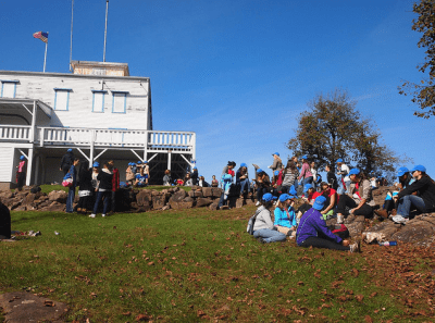 Mountain Day, on Mount Holyoke