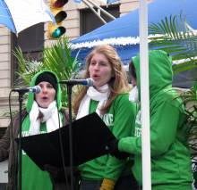 MHC & Pasquerella at St. Patrick's Day
