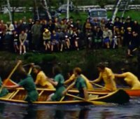 Outing Club canoe race 1939