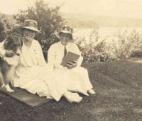 Mary Woolley and Jeannette Marks