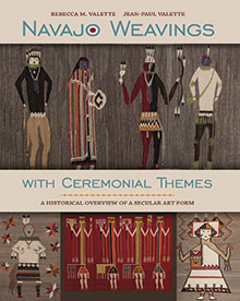 Navajo Weavings book cover