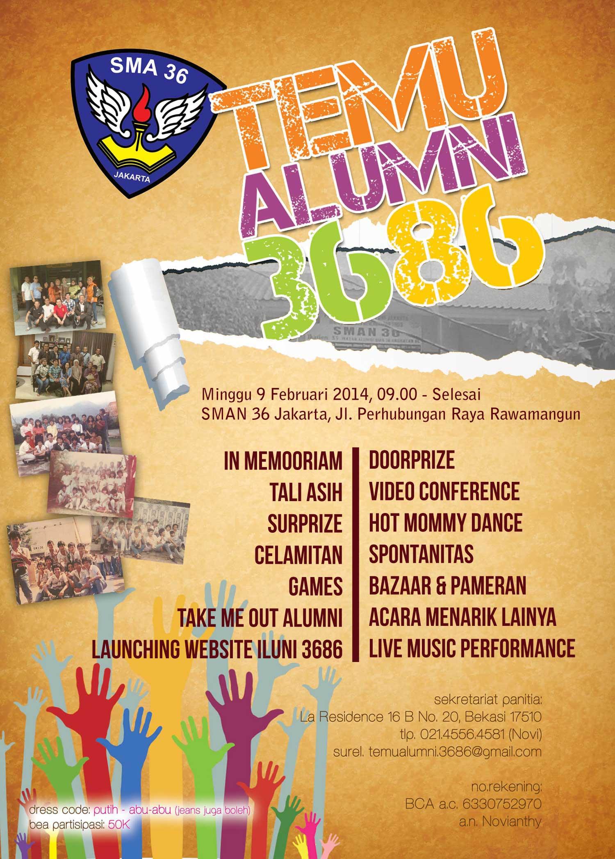 Info Reuni Alumni Sman 36 Jakarta Angkatan 1986