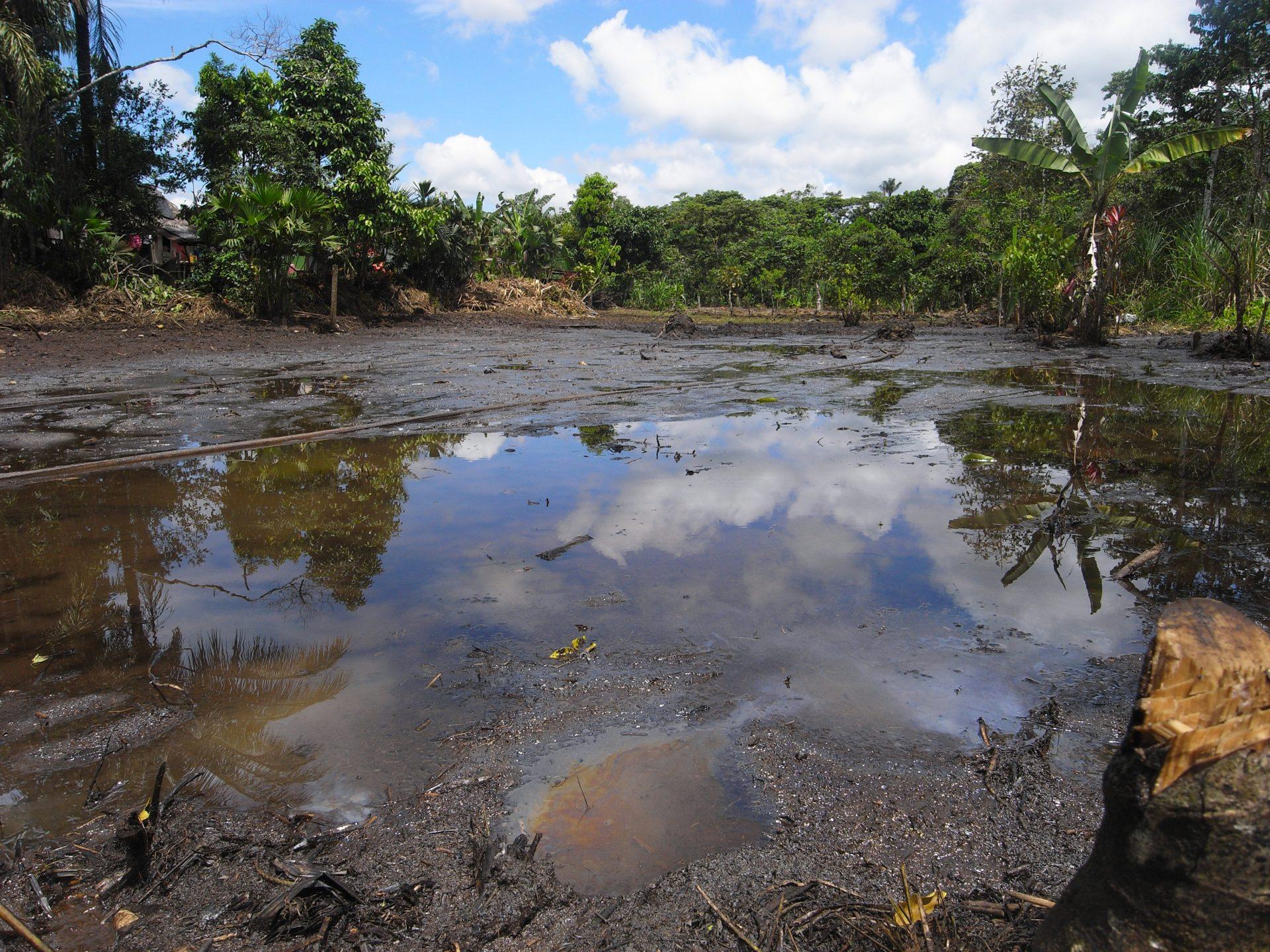 Chevron texaco ecuador Lago agrio