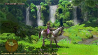 Uso del caballo en Dragon Quest XI