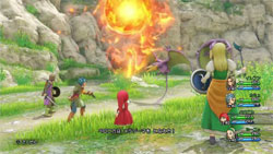Combates en Dragon Quest XI