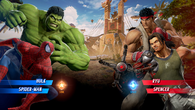 Alianza entre Marvel y Capcom para derrotar a Ultrón Sigma
