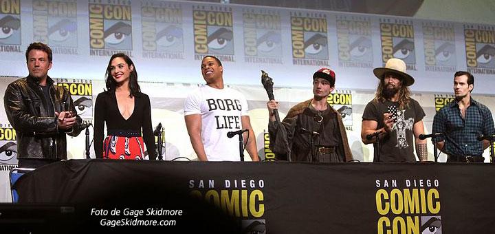Los Superhéroes de DC Comics en Justice League