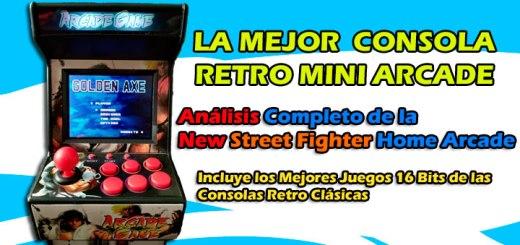 La Mejor Consola Retro Mini Arcade