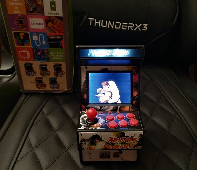 Consola Retro Mini Arcade: New Street Fighter Home Arcade